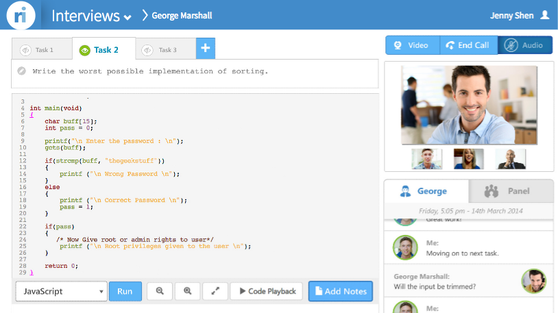 CodePad - Online Code Editor & Tool for Online Coding Interviews